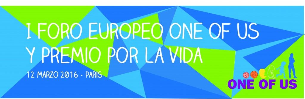 Logo I Foro Europeo One Of US